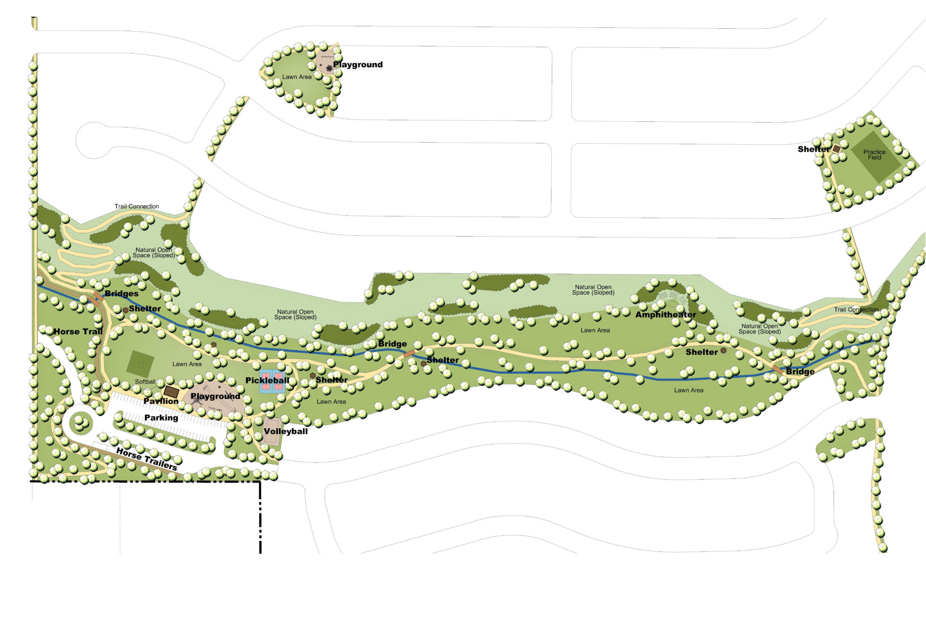 Map of Landscape Architecture Project