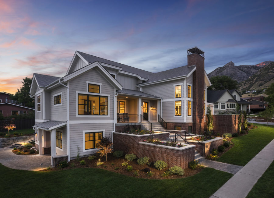 large residential Utah home design by Think Architecture
