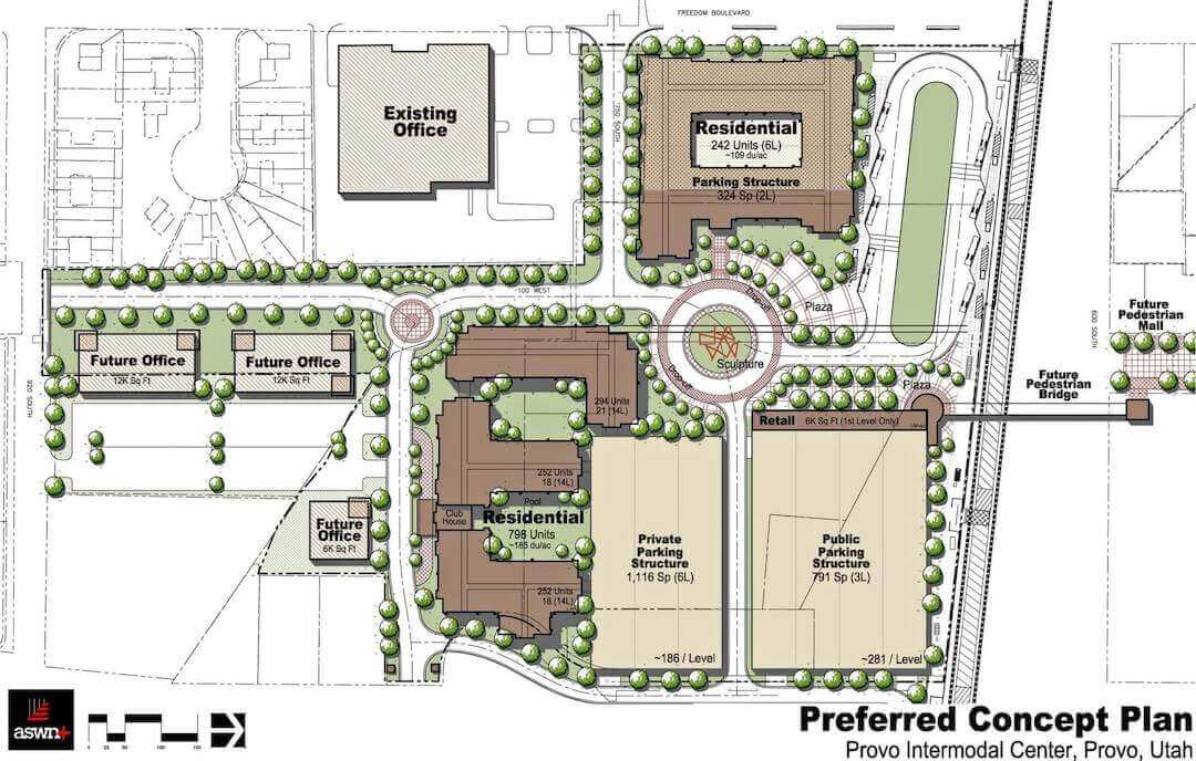 Provo Intermodal Center Land Planning